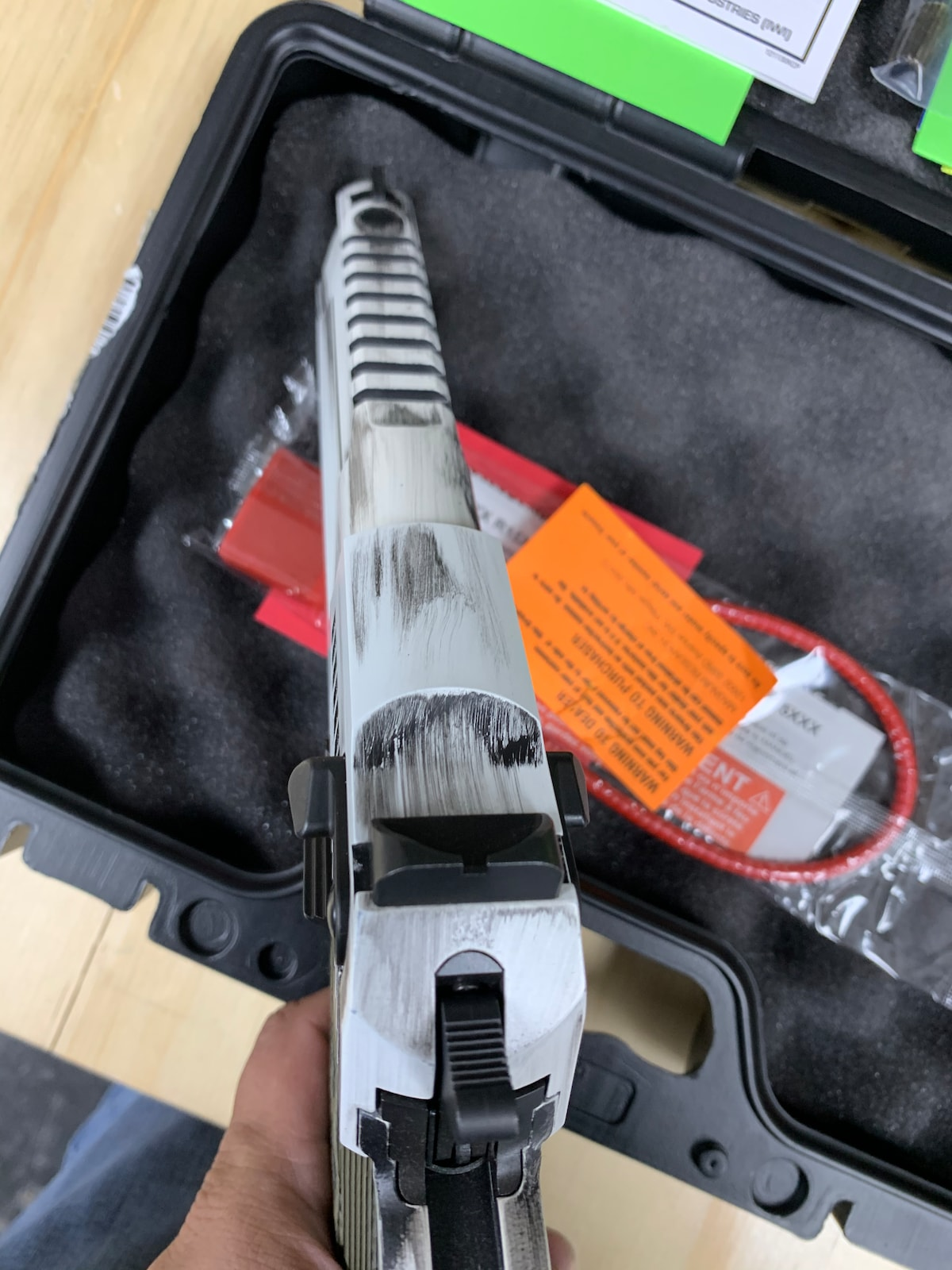 MAGNUM RESEARCH, INC. DESERT EAGLE 44 MAG
