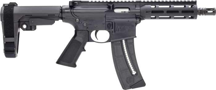 SMITH & WESSON M&P15-22 Pistol  SB Tactical SBA3