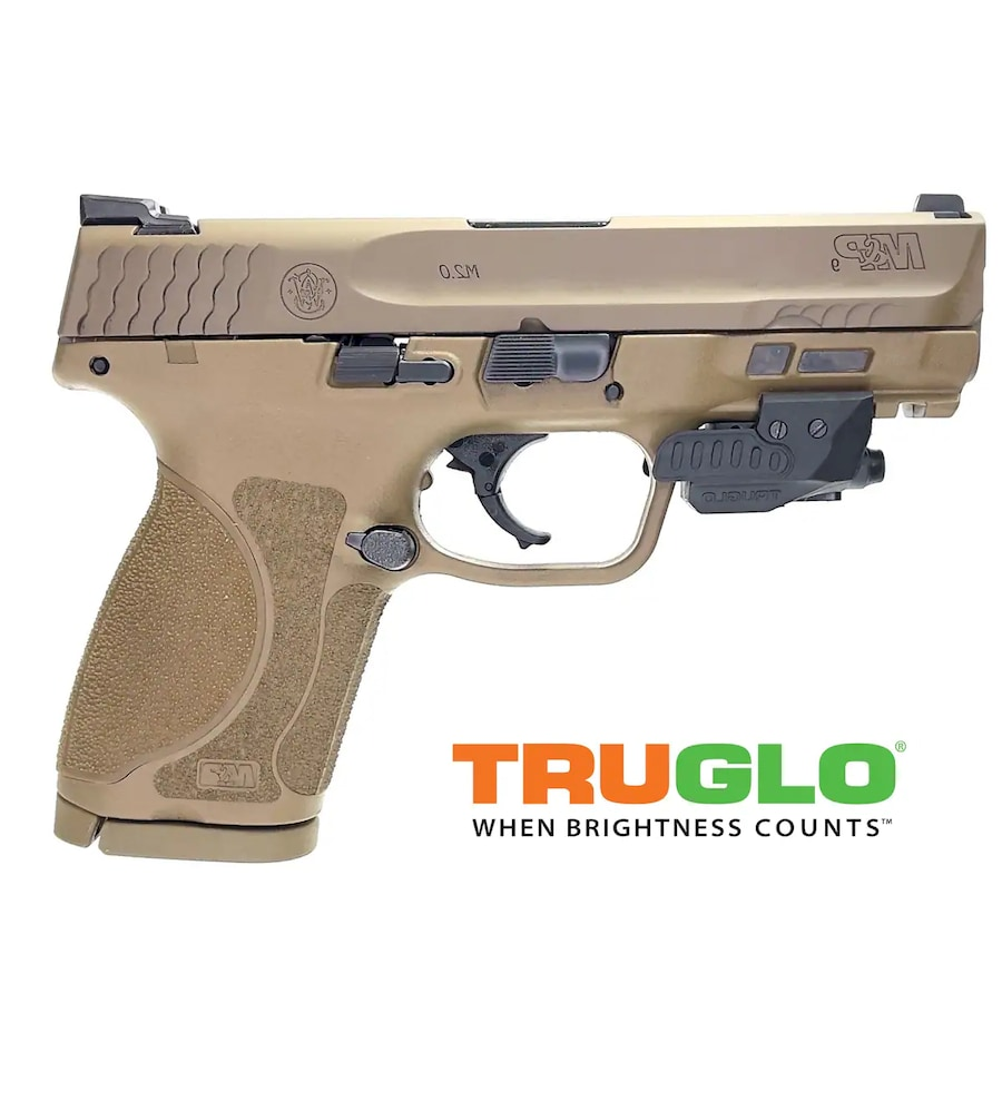 SMITH & WESSON 12458 M&P M2.0 Compact with laser