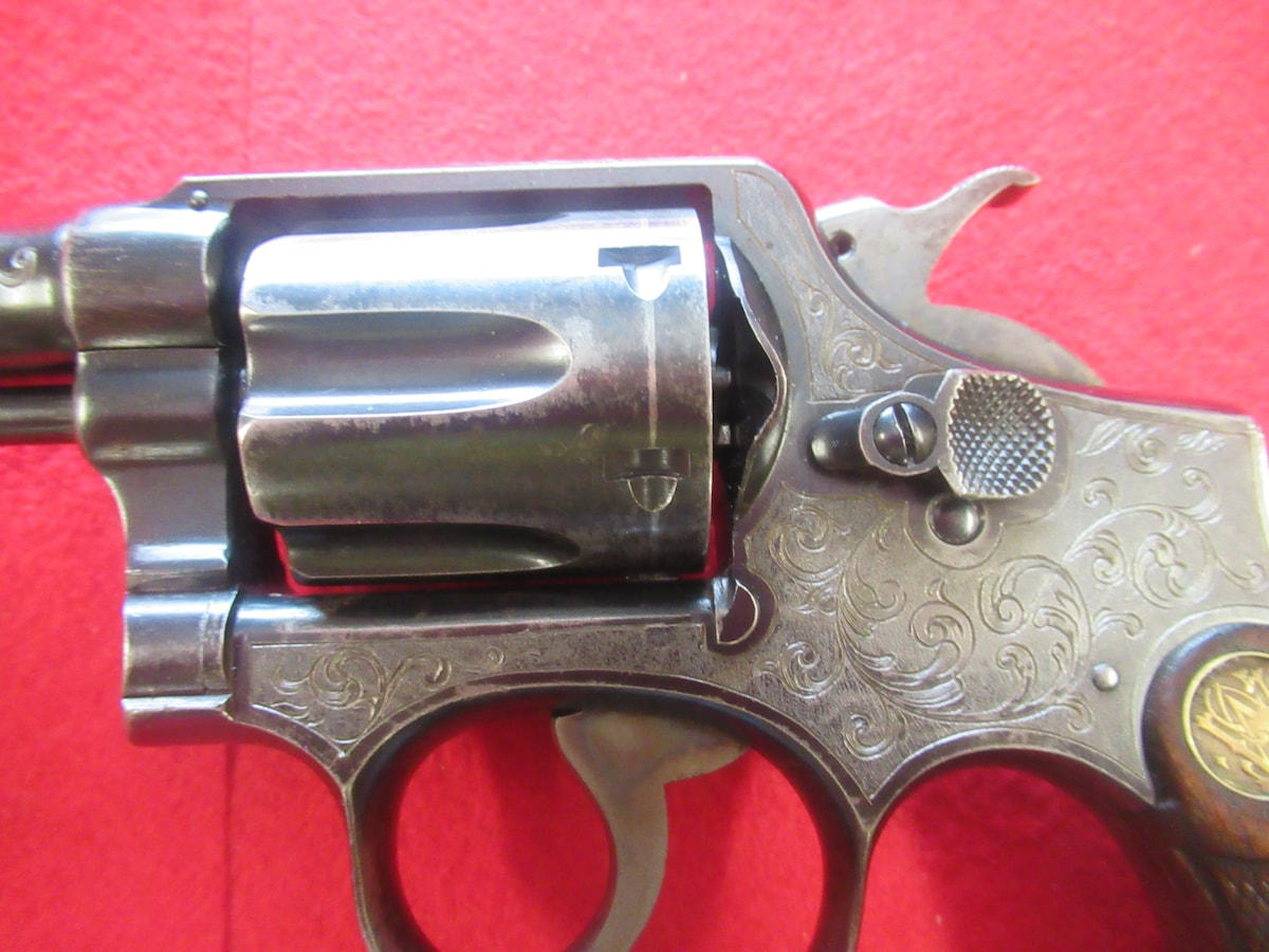 SMITH & WESSON hand ejector