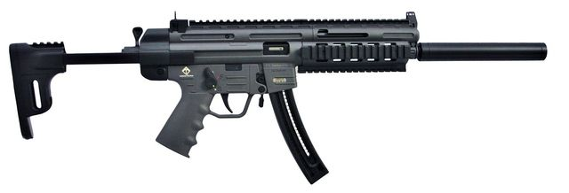 "GSG GERMAN SPORTS GUNS GSG-16 22 LR, 16"" Barrel, Smoke Grey, GERGGSG1622S, UPC 819644027072"