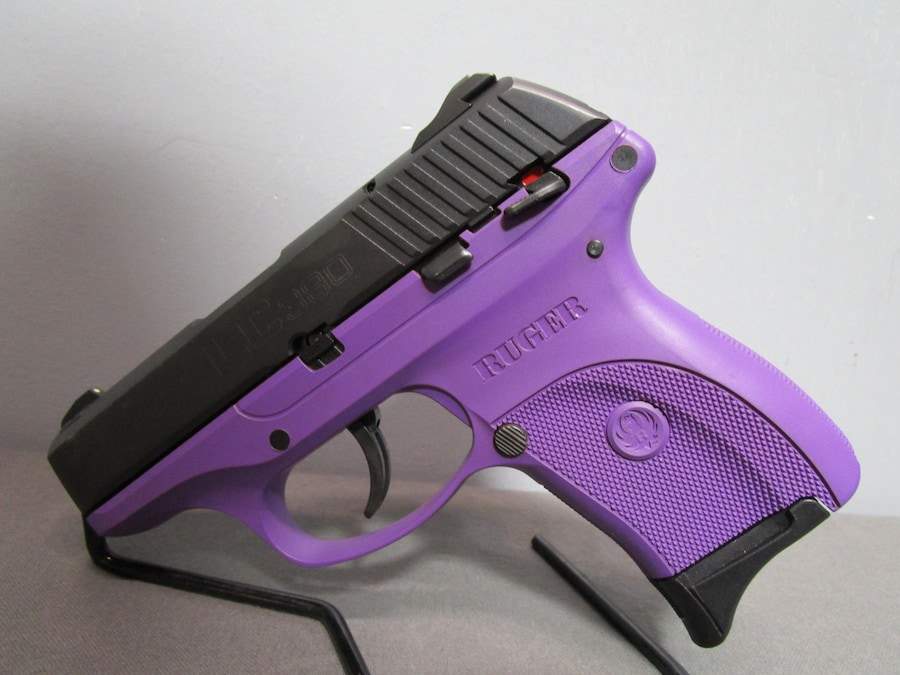 RUGER LC380 PURPLE