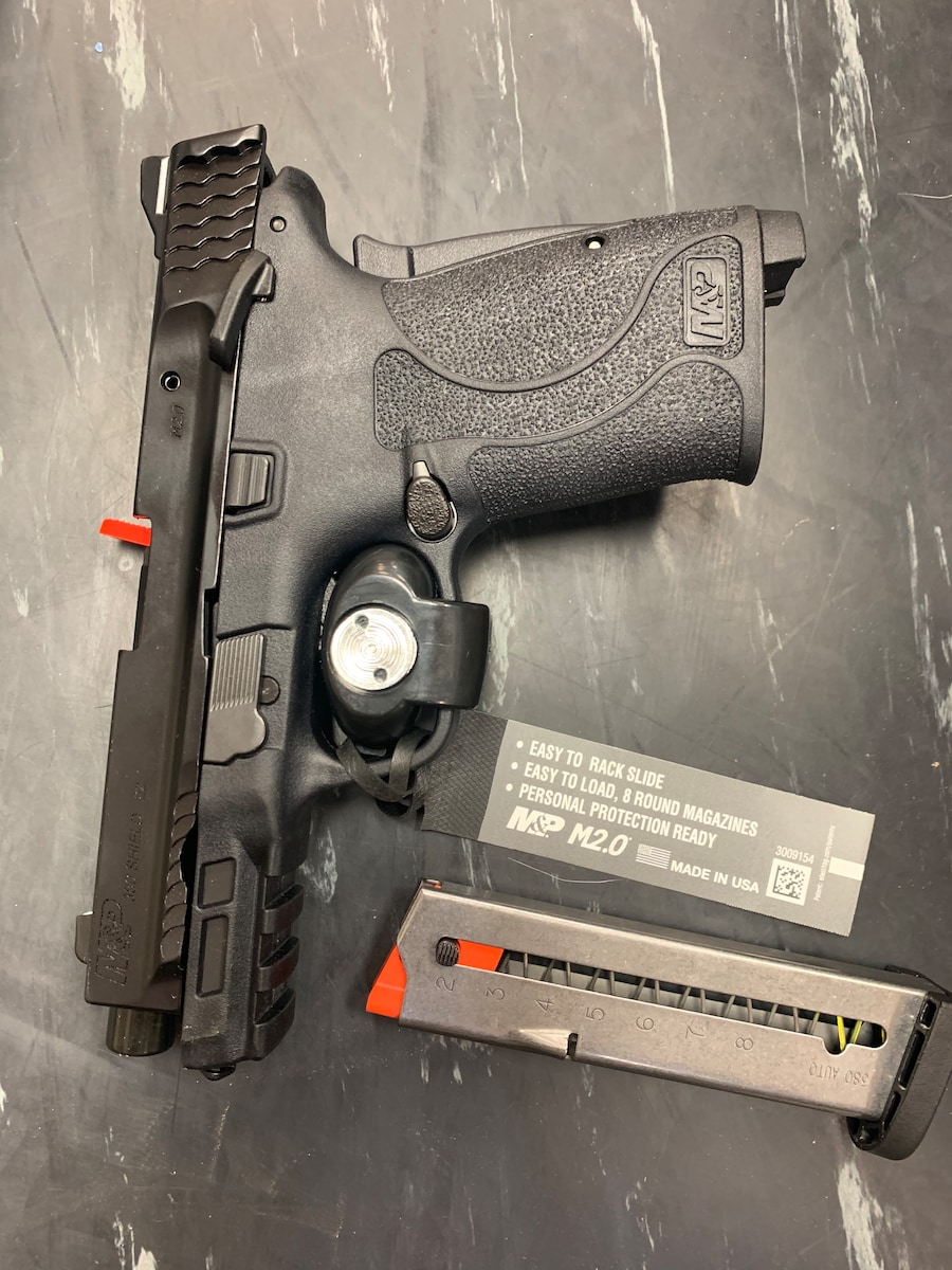 SMITH & WESSON M&P 380 EZ380 SHIELD EZ WITH THUMP SAFETY
