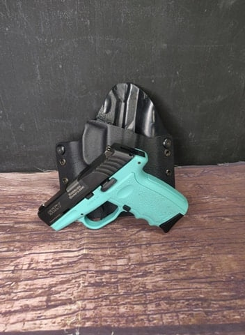 SCCY CPX-3 Aqua Blue w/ Holster