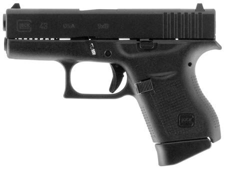 GLOCK UI4350201 G43 Sub-Compact 9mm