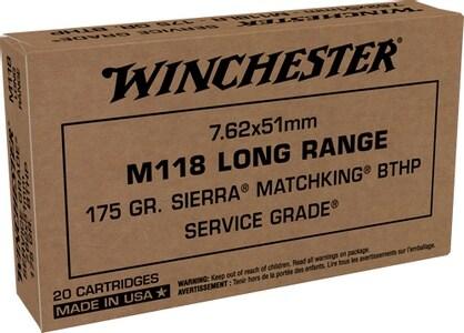 WINCHESTER M118 LONG RANGE SIERRA MATCHKING