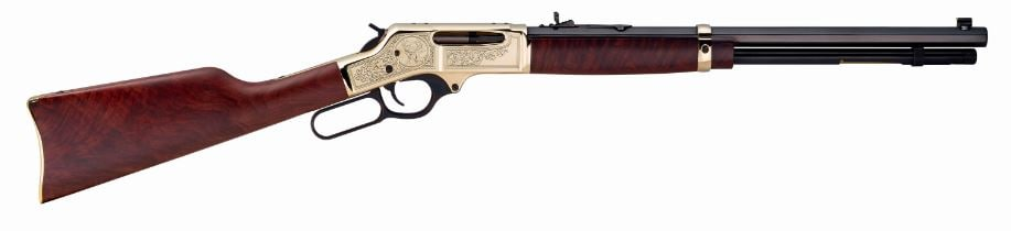 HENRY REPEATING ARMS BRASS WILDLIFE EDITION
