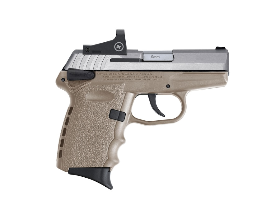 SCCY INDUSTRIES CPX-1TTDERD W/CRIMSON TRACE CTS-1500