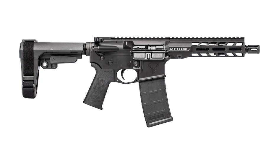 STAG ARMS LLC Stag 15 Tactical RH QPQ 7.5 Inches 5.56 Pistol BLA SL NA