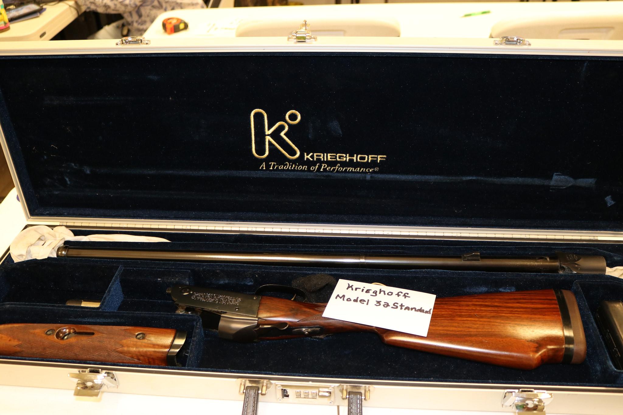 H. KRIEGHOFF GUN CO. (SHOTGUNS OF ULM) Model 32