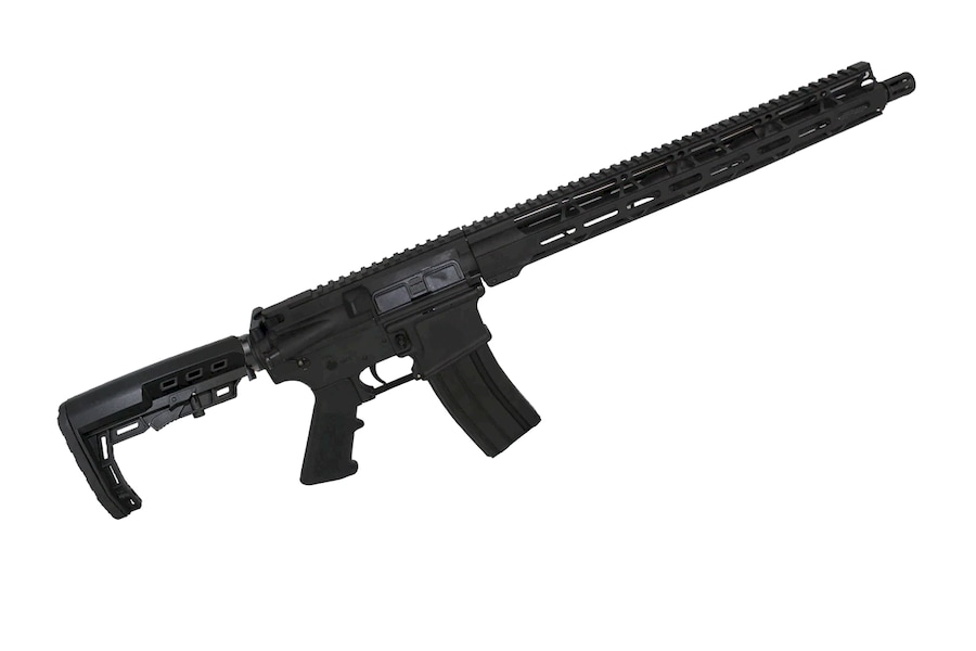 "ZAVIAR LLC AR 15 5.56 'Operator Series' 16"" Government Complete Rifle / 1:8 Twist / 15"" MLOK Handguard"