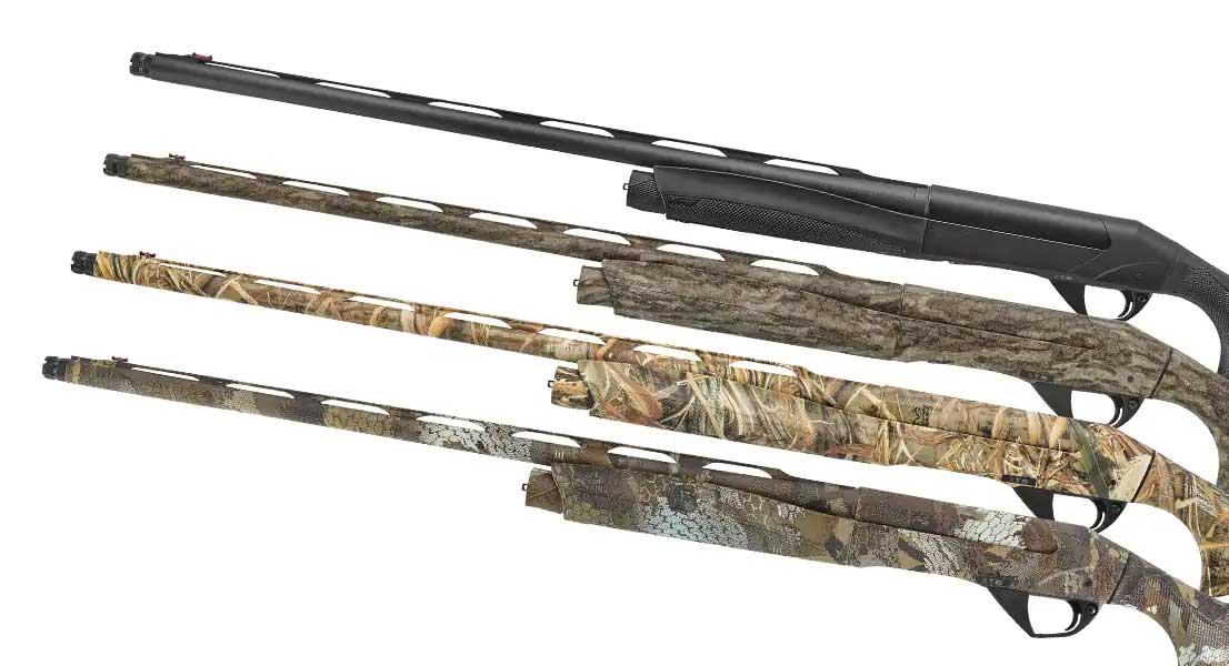 4 semi auto pump shotguns