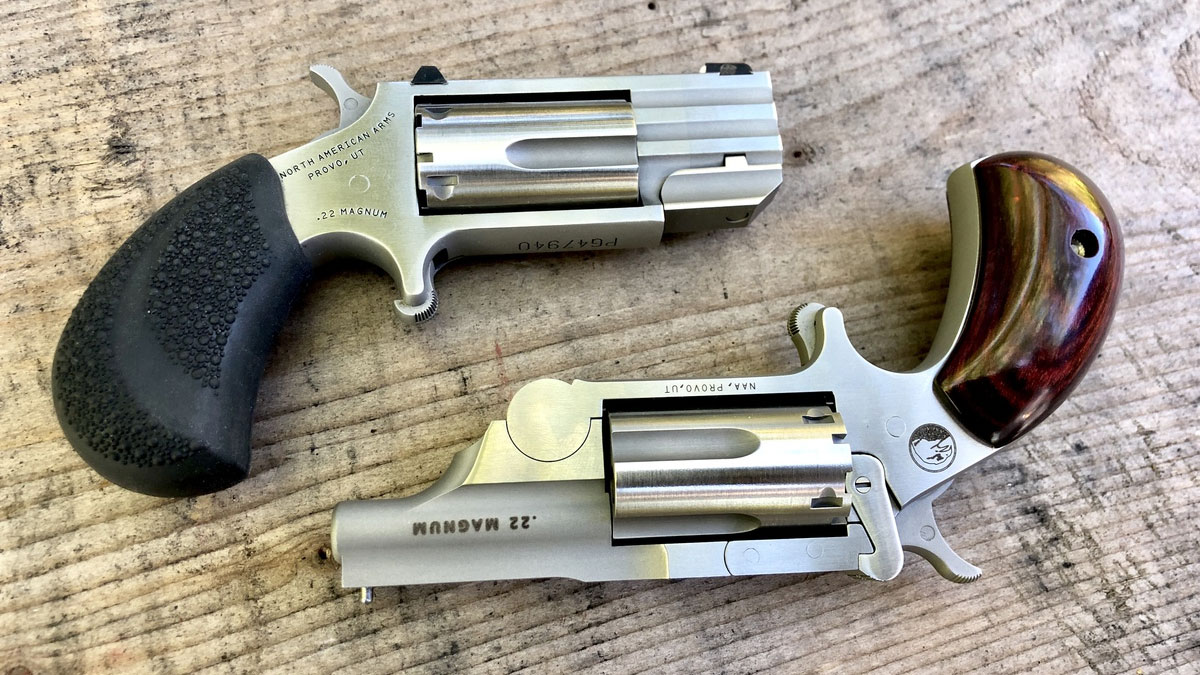 KAlberts, NAA, North American Arms, .22, 22 lr, 22 wmr, 22 shot, revolver, mini revolver, concealed carry, ccw, Pug, NAA Pug, Ranger II, NAA Ranger, Tiny Gun, 22 Magnum,