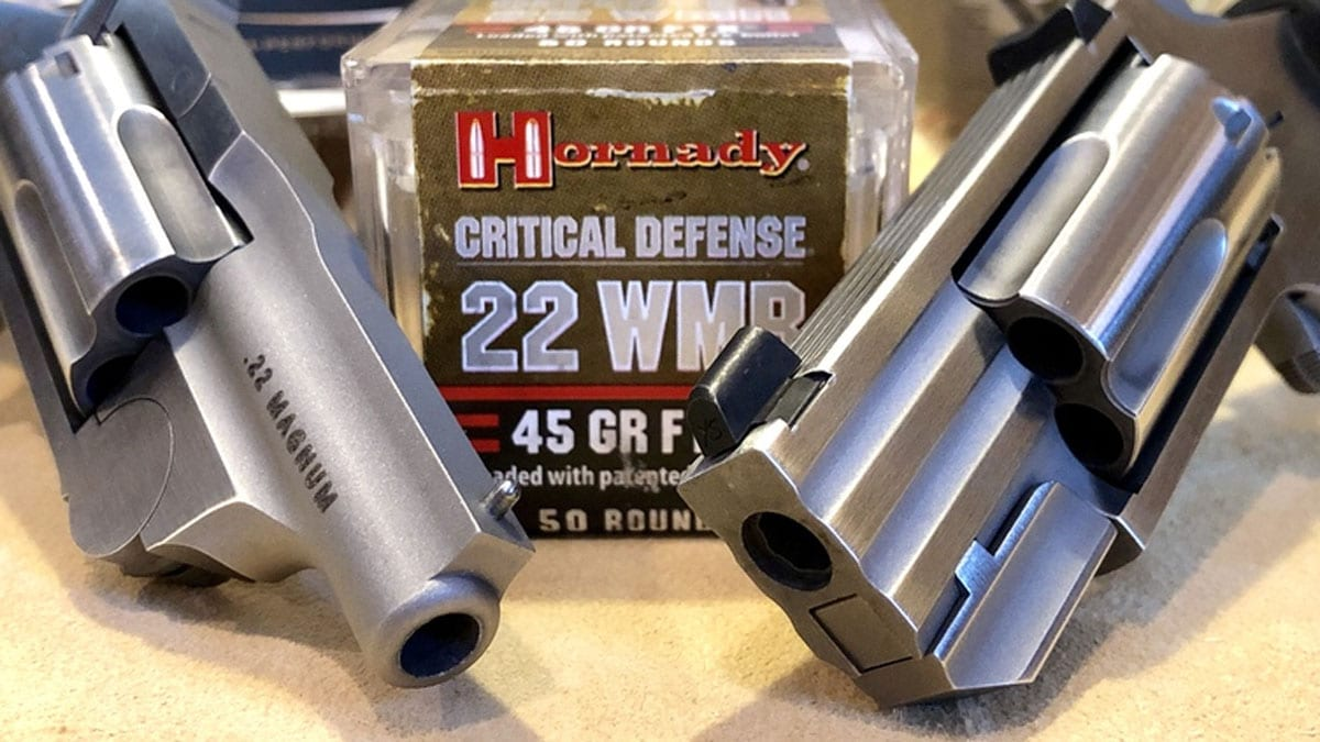 Hornady Critical Defense 22 WMR
