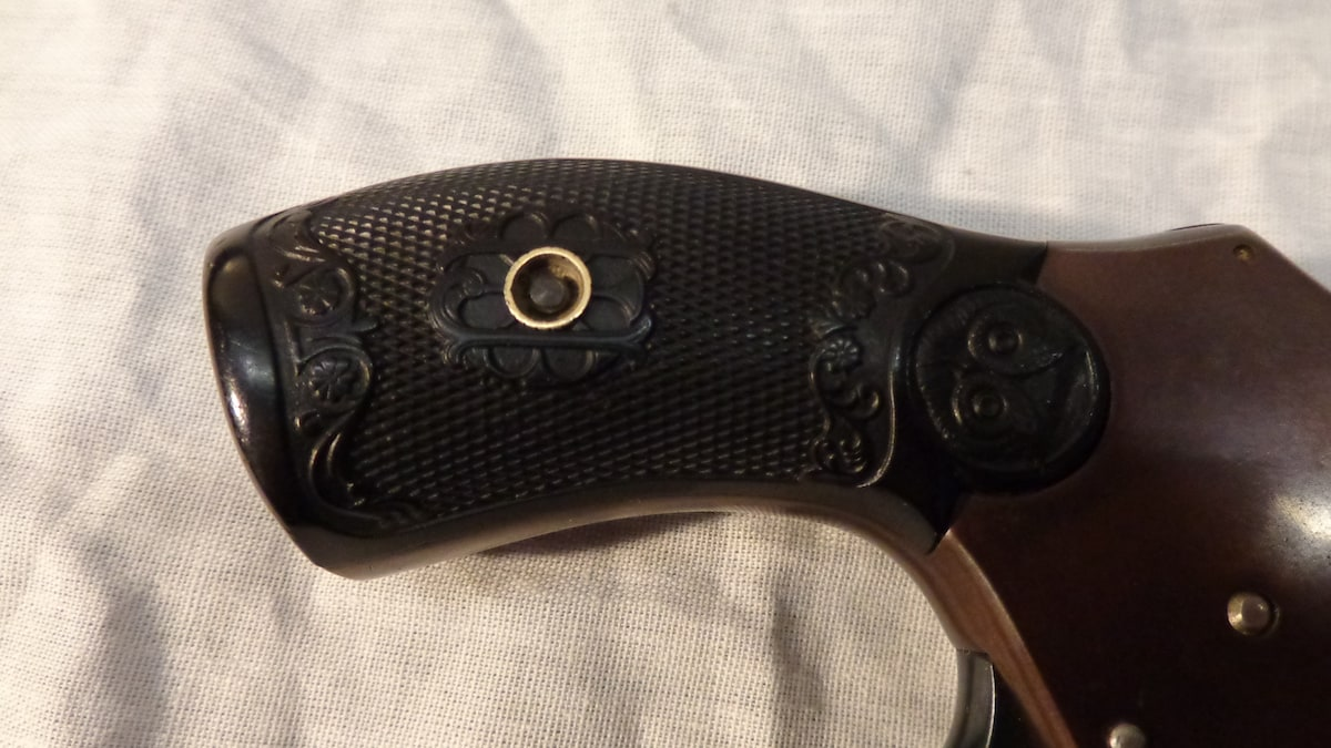 IVER JOHNSON Lovell Safety Hammerless Automatic