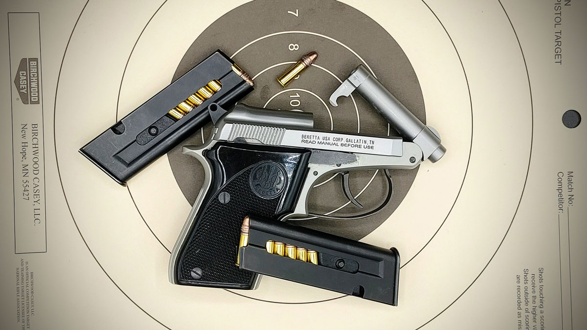 Beretta Tip-Up Pistol