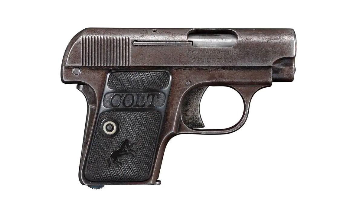 Colt 1908 Hammerless Pistol