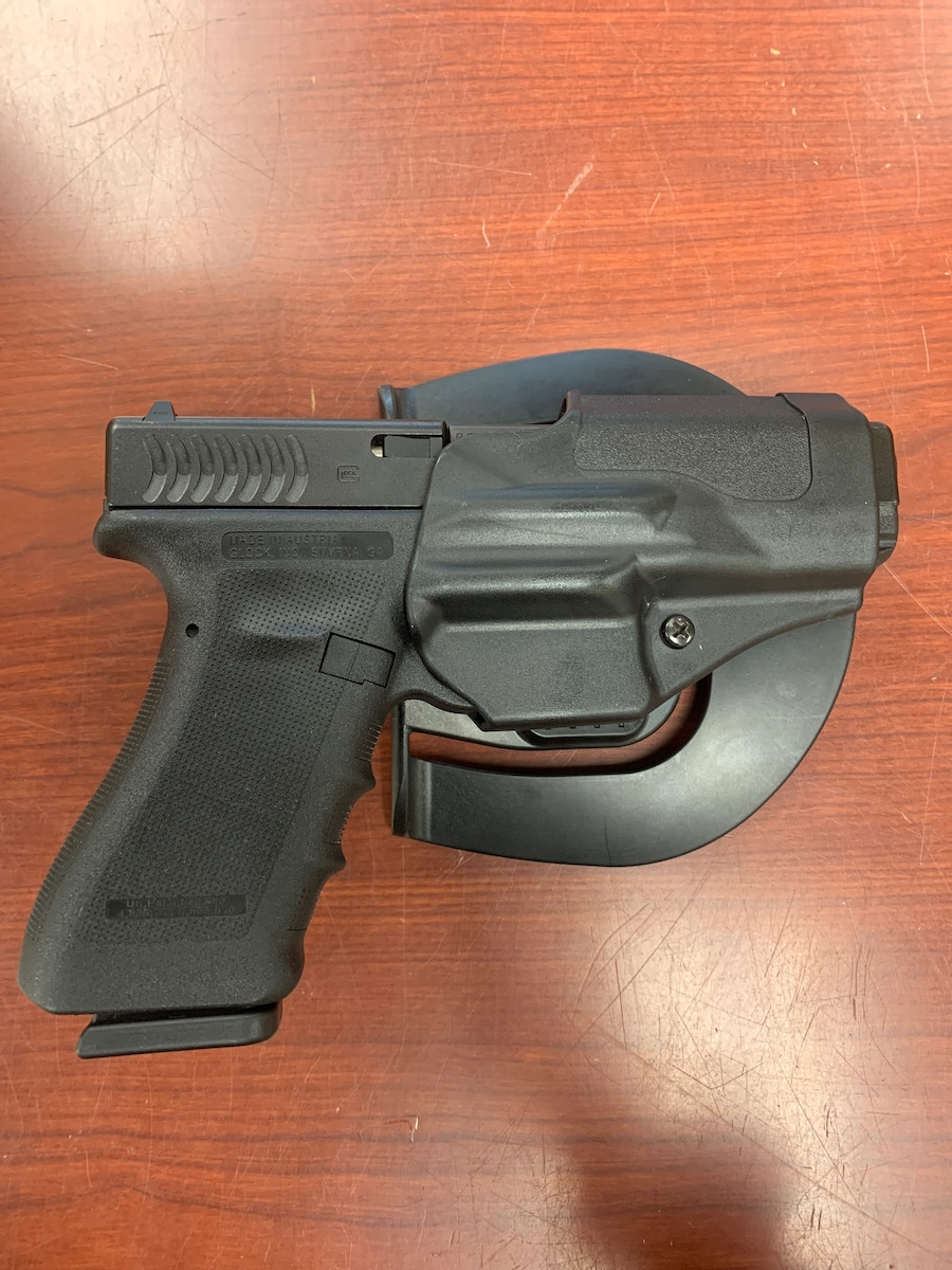 GLOCK 17 g17 gen 3 rtf2 frame with crescent serrations limited edition