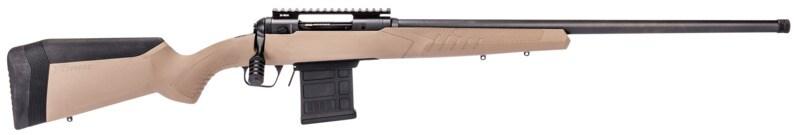 "SAVAGE ARMS 110 TACT DESERT 6.5PRC FDE 24"" 57492 | BLACK BBL/FDE STOCK 6.5 PRC"
