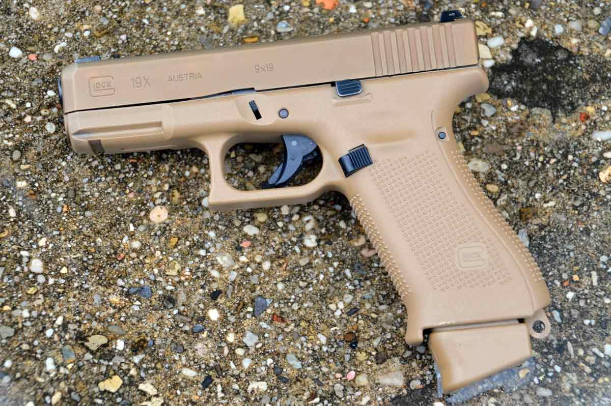 glock g19x handgun 9mm