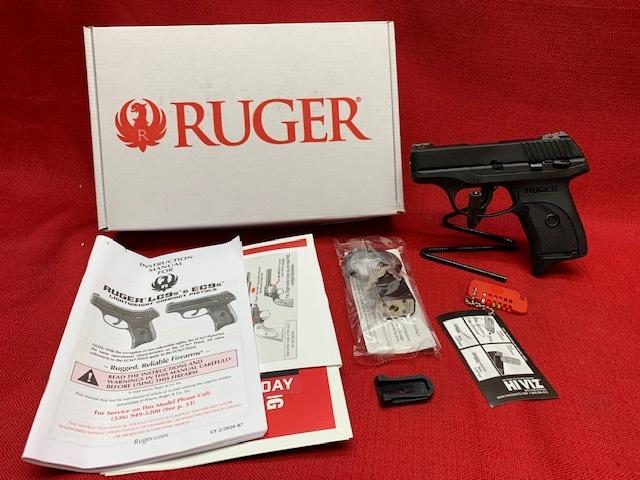 RUGER LC9S 9MM MANUAL SAFETY FIBEROPTIC SIGHTS