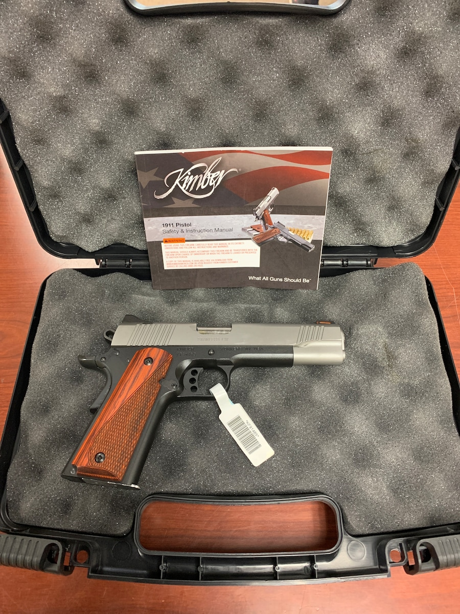 KIMBER 1911 LW Stainless coco 669278376066