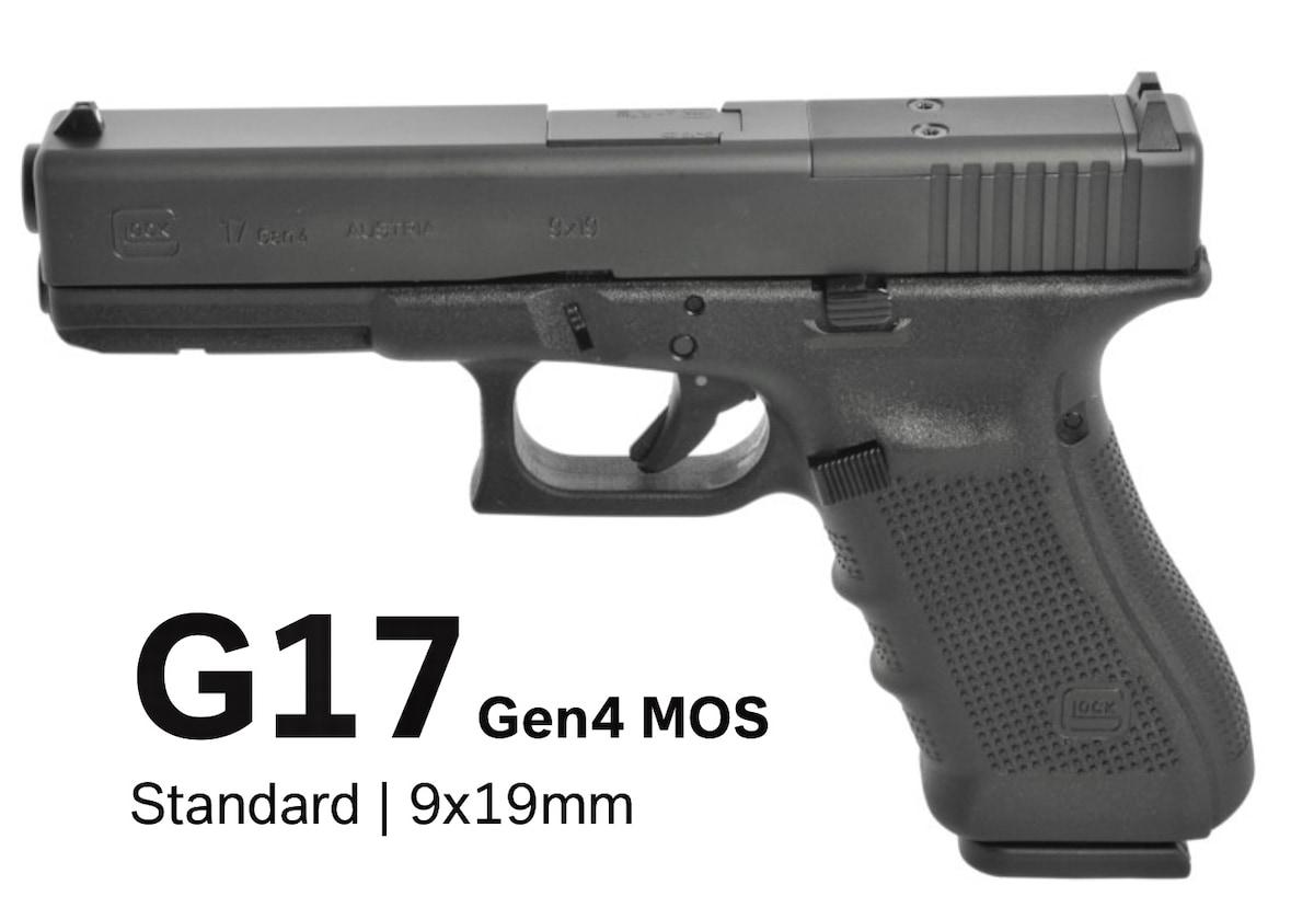 GLOCK 17 G17 GEN 4 MOS