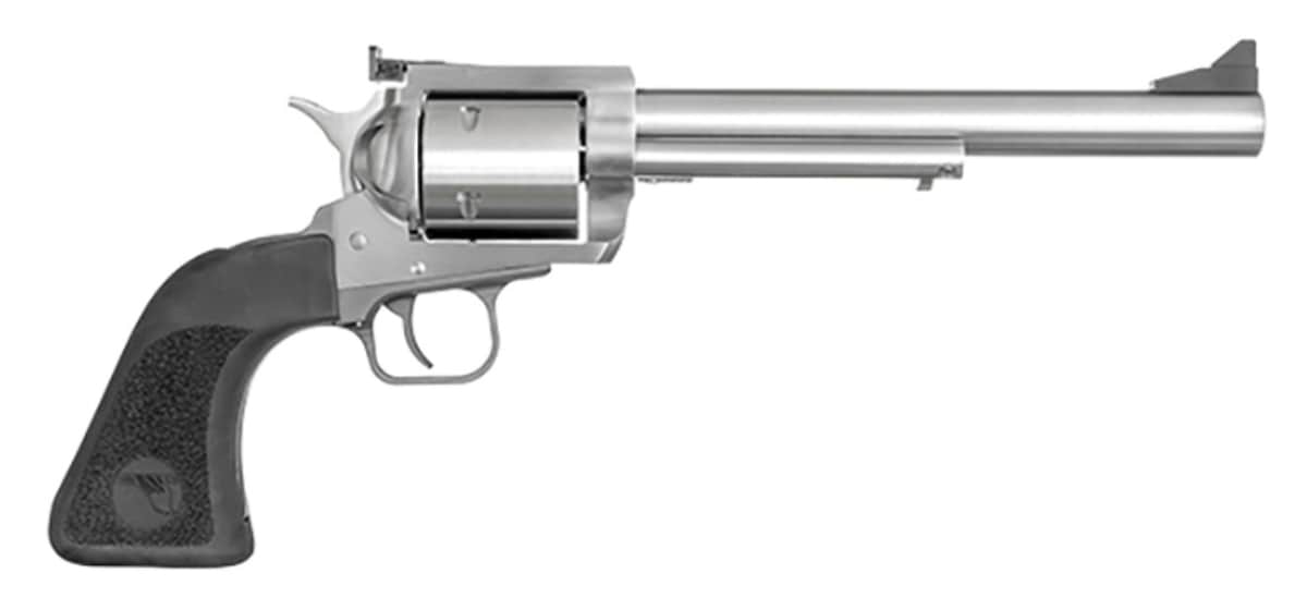 "MAGNUM RESEARCH BFR, 44 Magnum, 7.5"" Barrel, Adj Rear Sight, Stainless, 6-rd"