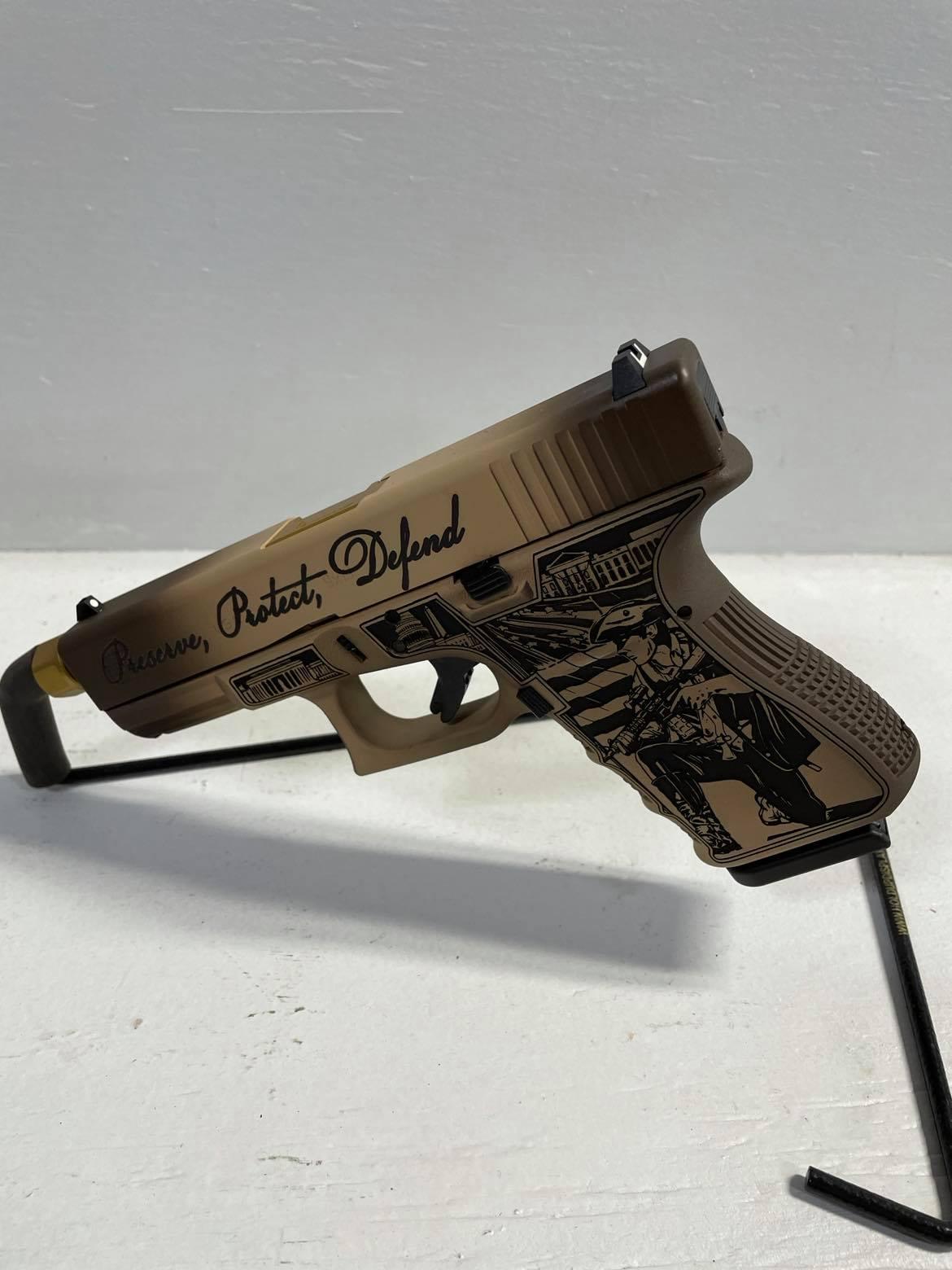 GLOCK G19 GEN3 USA - Constitution Model