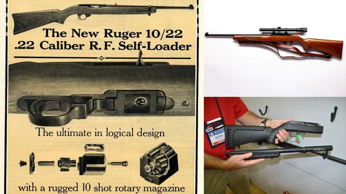Ruger 10/22 old advertisement