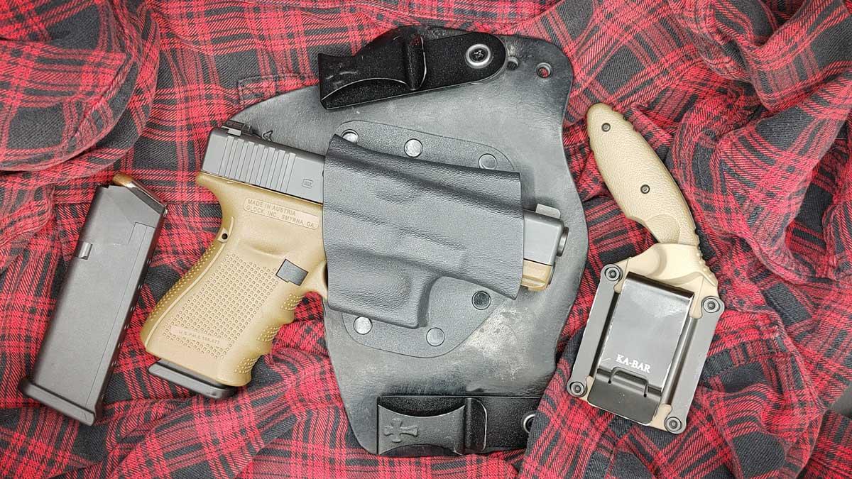 Glock 19 & Ka-Bar TDI
