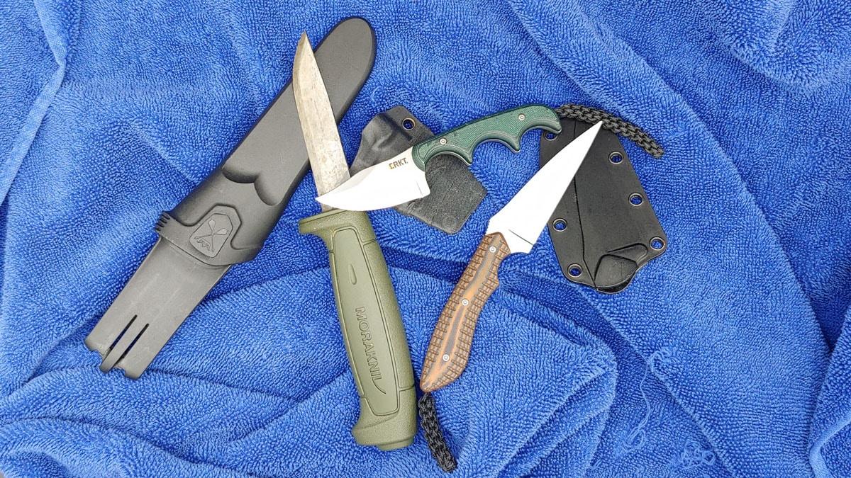 Fixed Blades: Mora & CRKT