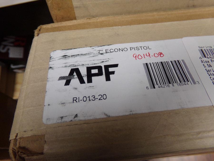 APF Econo pistol