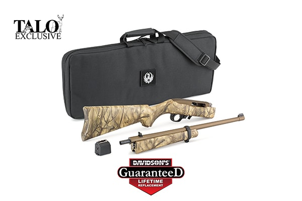 RUGER 10/22 Takedown, Talo exclusive Camo