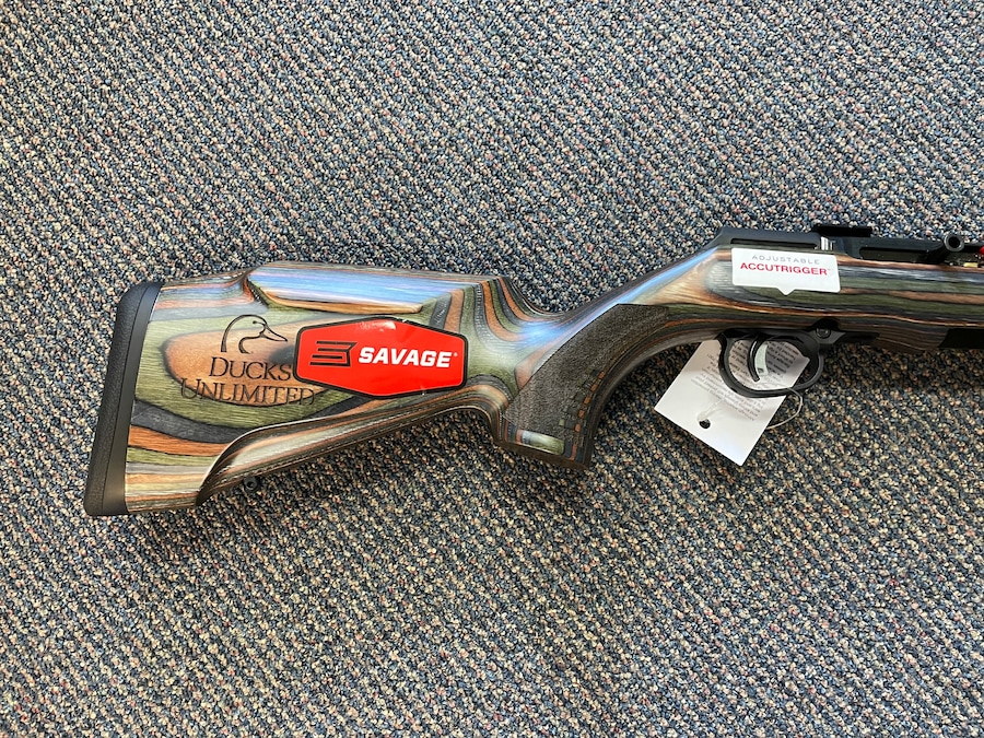 SAVAGE A22 BNS-SR Ducks Unlimited