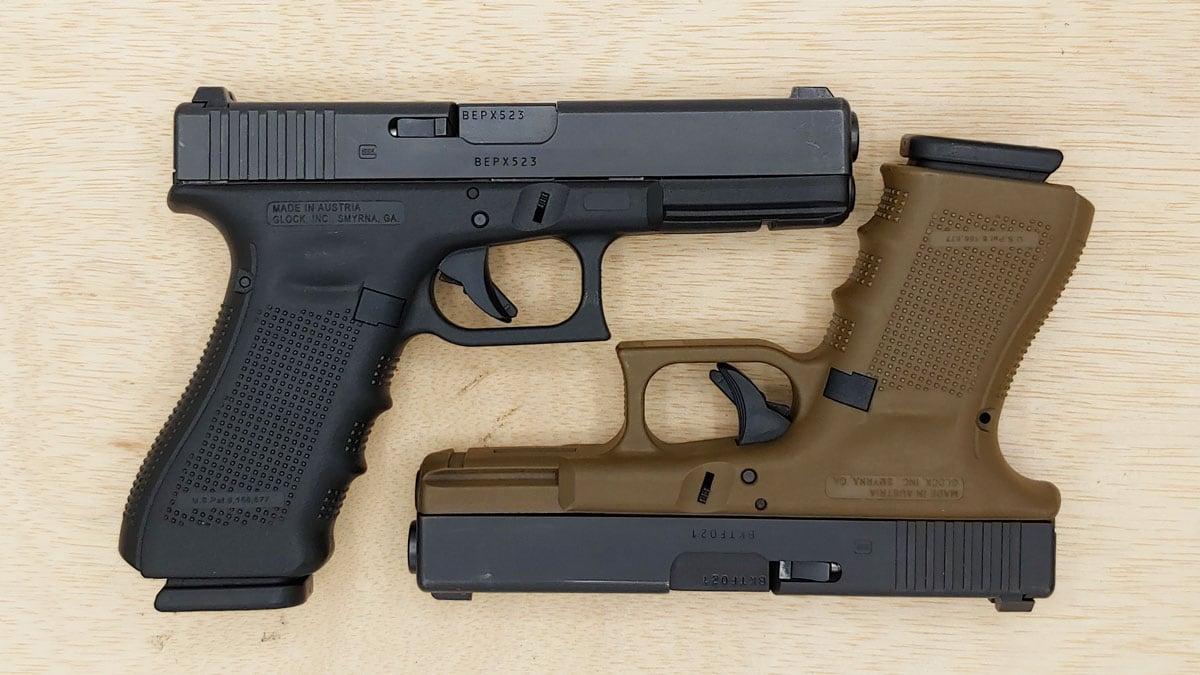 Glock 17 vs. Glock 19