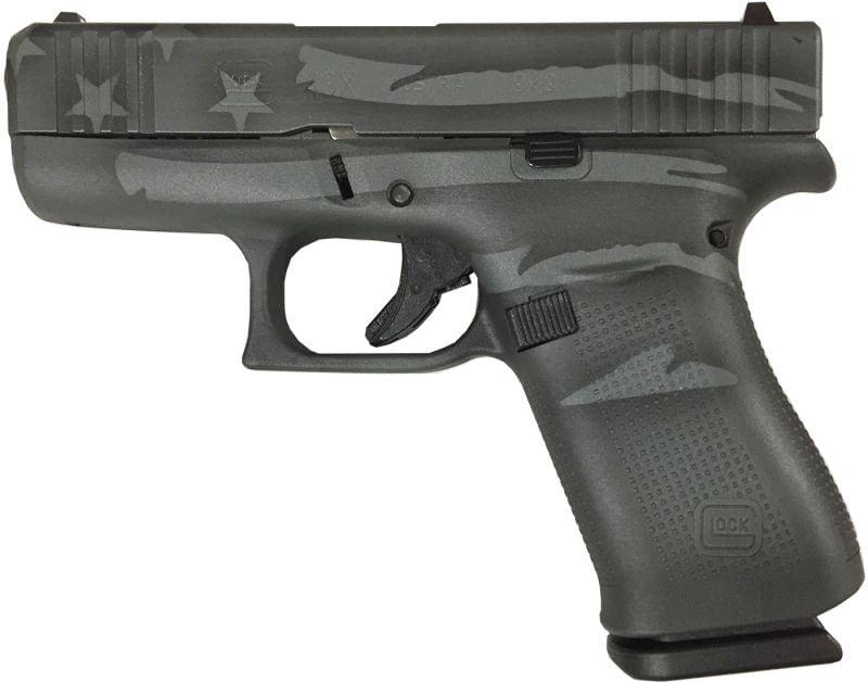Glock 43X Battleworn Flag