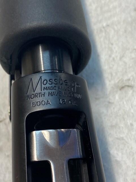 MOSSBERG 500A PERSUADER