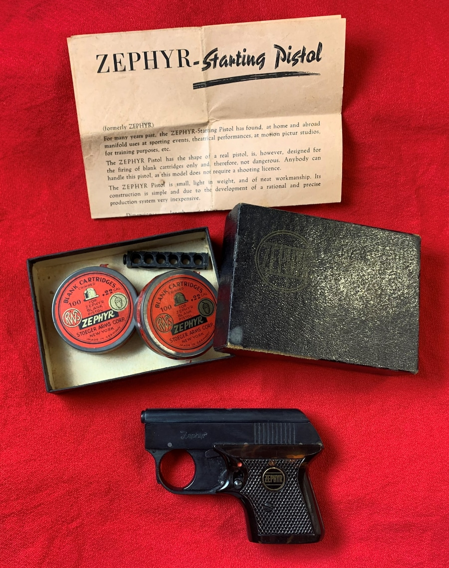 ZEPHYR starting pistol
