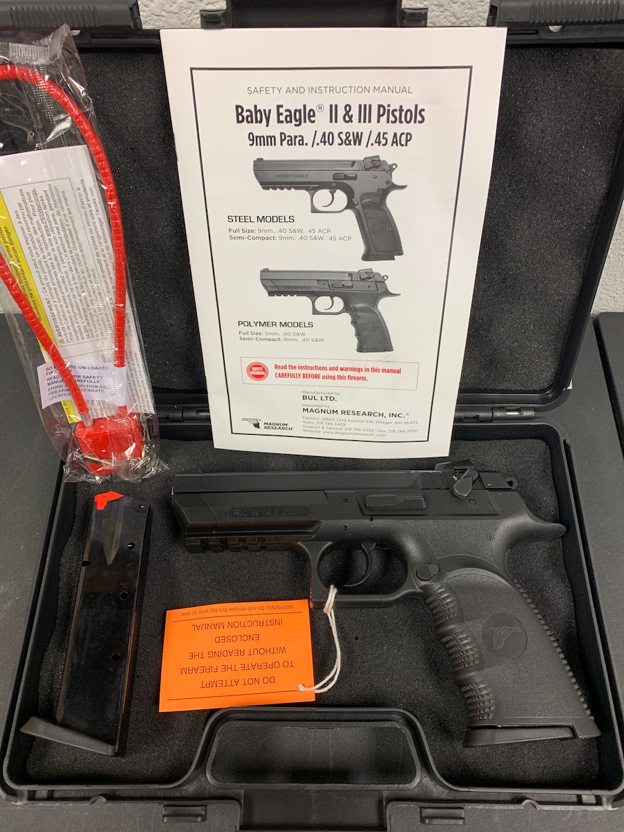 MAGNUM RESEARCH BABY DESERT EAGLE III BE99153rl