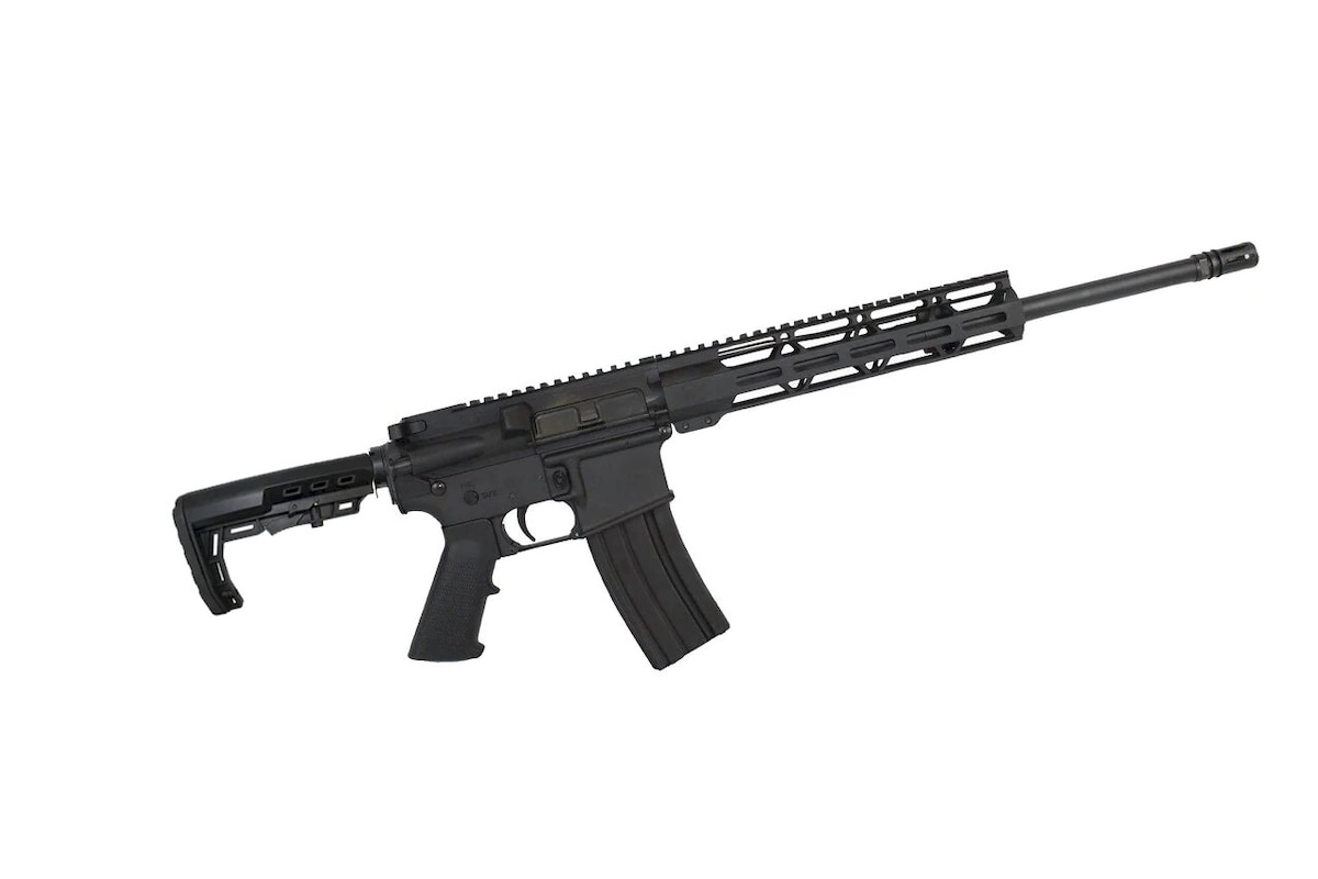 "ZAVIAR LLC AR-15 LOKI 'OPERATOR SERIES' 16"" GOVERNMENT COMPLETE RIFLE / 1:8 TWIST / 12"" MLOK HANDGUARD"
