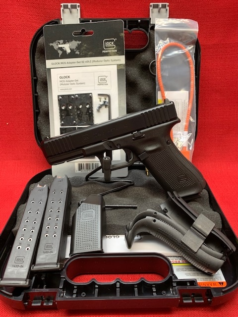 GLOCK 22 G22 GEN5 MOS 40S&W PA225S203MOS OPTICS READY