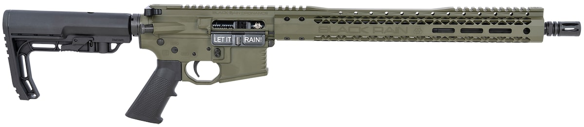 BLACK RAIN ORDNANCE Billet Rifle