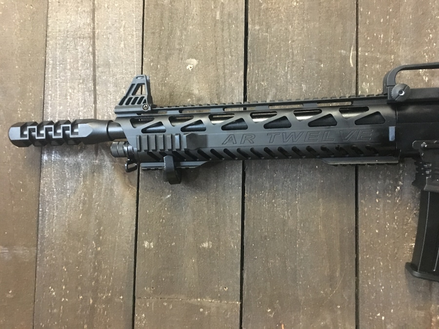 PANZER ARMS AR Twelve ar-12 SEMI-AUTO shotgun