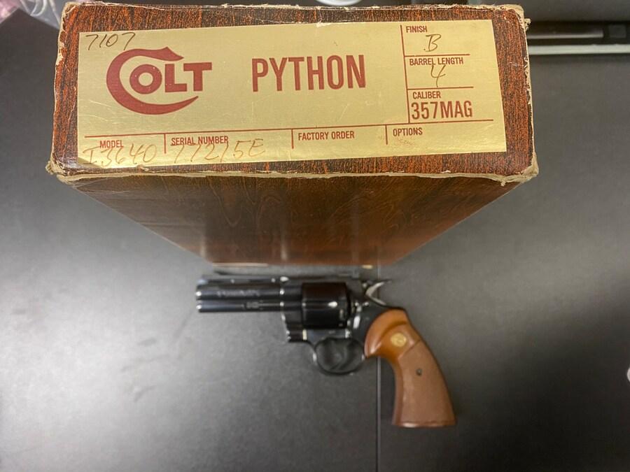 COLT COLT PYTHON 357 MAG/ 38 SP