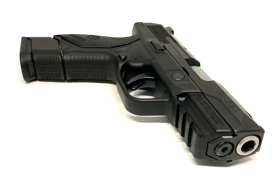 RUGER AMERICAN COMPACT 9MM W/ 4 MAGS, NIGHT SIGHTS