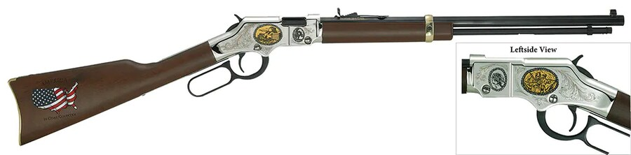 HENRY REPEATING ARMS COAL MINER EDITION II -H004CM2