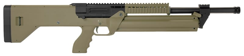 SRM ARMS M1216 FDE Semi-Auto