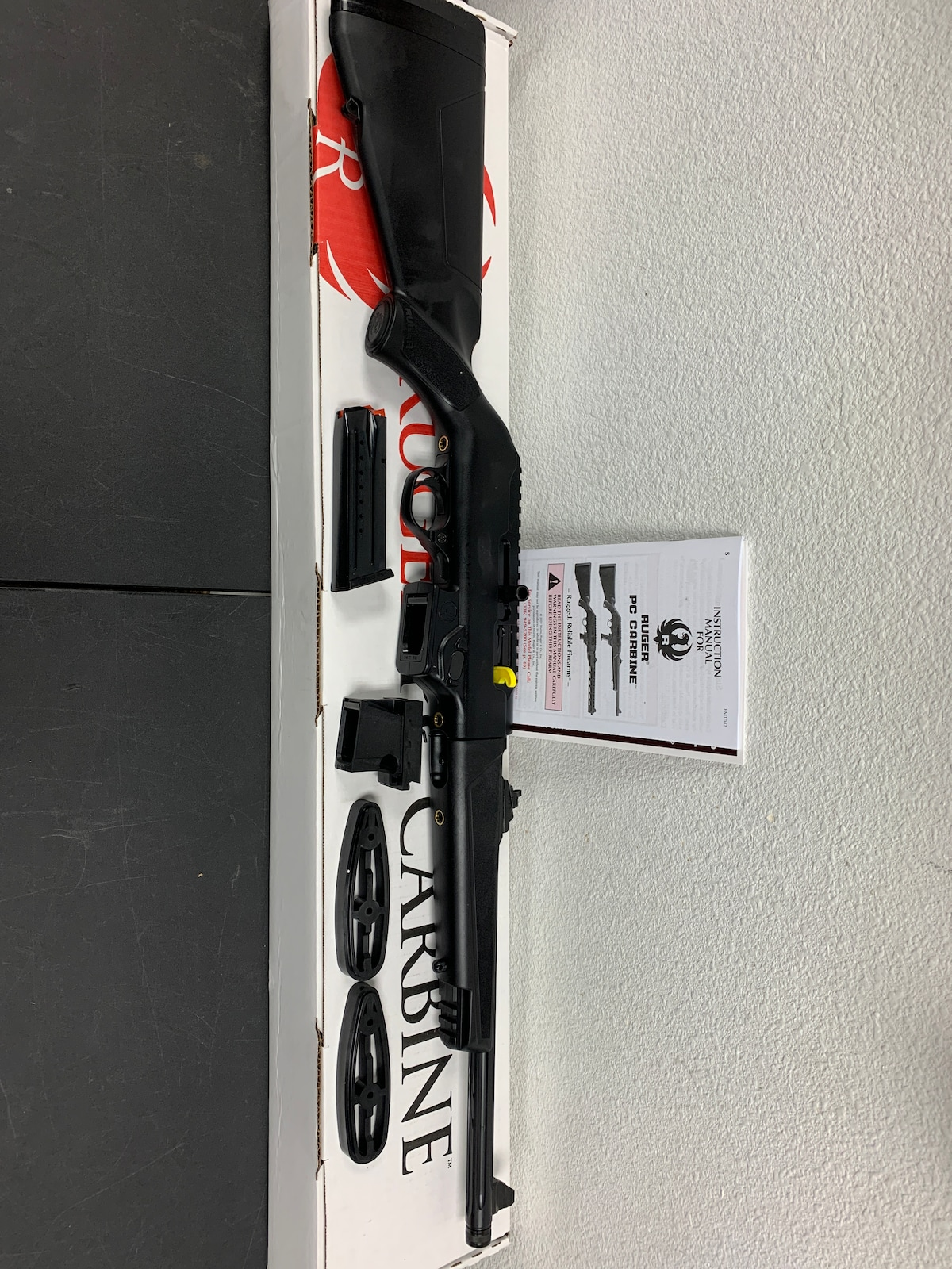 RUGER 9MM PC CARBINE TAKEDOWN 19100