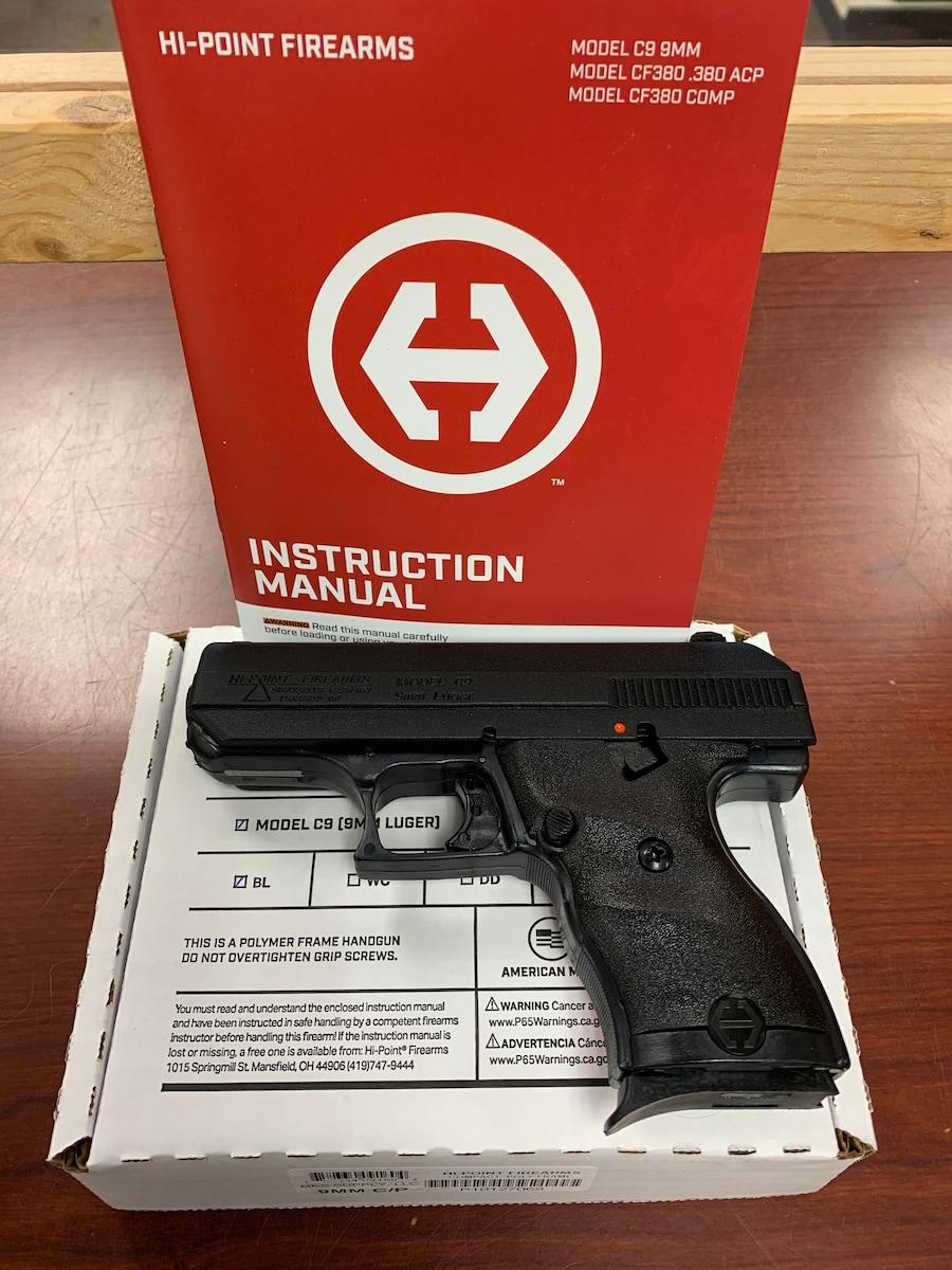HI-POINT C9 Compact 9mm C-9